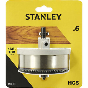 Набор коронок 68/74/80/90/100 мм STA81025 Stanley STA81025 Stanley