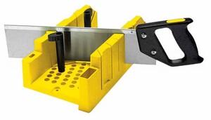 Стусло с ножовкой и фиксаторами Stanley MITRE BOX, 1-20-600 1-20-600 Stanley
