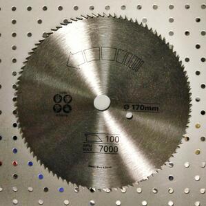 Диск пильный 170 х 16 мм, 100 зубьев Stanley, STA10290, по дереву STA10290 Stanley