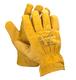 Рабочие кожаные перчатки подкладкой XL МАСТЕР