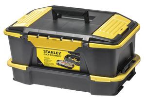 """Ящик для инструментов и органайзер """"CLICK & CONNECT"""" Stanley, STST1-71962 STST1-71962 Stanley"""