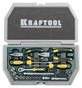 Набор слесарно-монтажного инструмента 33 предмета Kraftool INDUSTRY 27972-H33