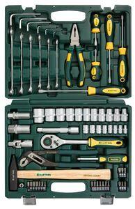 Набор слесарно-монтажного инструмента 66 предметов KRAFTOOL 27976-H66