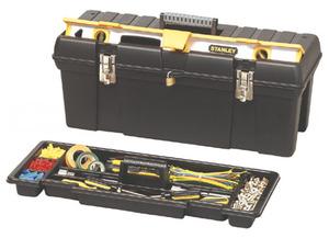 """Ящик для инструментов 26"""" Stanley, 1-92-850, с отсеком для хранения уровня 1-92-850 Stanley"""