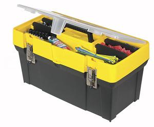 """Ящик для инструментов 19"""" Stanley """"Classic"""", 1-93-285, пластмассовый с органайзером в крышке 1-93-285 Stanley"""