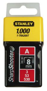 """Скоба для степлера 8 мм Stanley """"Light Duty"""" тип """"А"""" (5/53/530), 1-TRA205T, 1000 шт. 1-TRA205T Stanley"""