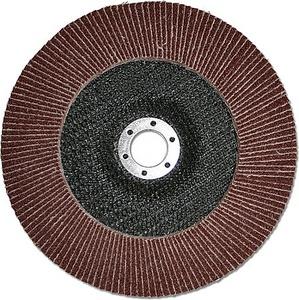 Круг лепестковый шлифовальный КЛТ 125x22.2 мм, 60G, тип 27, для УШМ, Stanley, STA32126-XJ STA32126-XJ Stanley