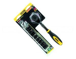 """Трещотка 1/4"""" с вращающейся рукояткой """"Rotator"""" Stanley """"Black Chrome"""", 0-94-607 0-94-607 Stanley"""