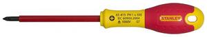 """Отвертка электрика PH1 х 100 мм Stanley """"FatMax VDE 1000V"""", 0-65-415 0-65-415 Stanley"""