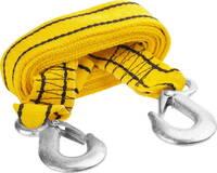 Трос буксировочный 2 крюка 4 м 2.5 т в сумке Stayer STANDARD 61207-2.5
