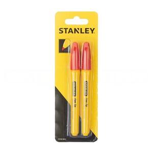Маркер красный Stanley, STHT81389-0, 2 шт. STHT81389-0 Stanley
