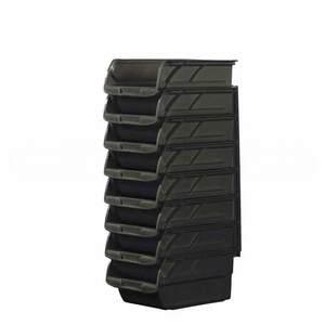 Набор из 8-ми черных пластмассовых лотков №3 Stanley, 1-94-468 1-94-468 Stanley