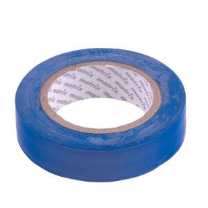Изолента ПВХ, 15 мм х 10 м, синяя, 150 мкм 88770 MATRIX