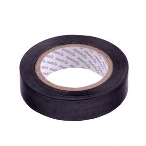 Изолента ПВХ, 19 мм х 20 м, черная, 150 мкм 88778 MATRIX