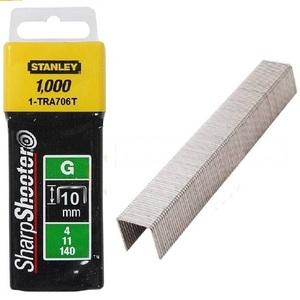 "Скоба для степлера 10 мм Stanley ""Heavy Duty"" тип ""G"" 1000 шт. 1-TRA706T Stanley"