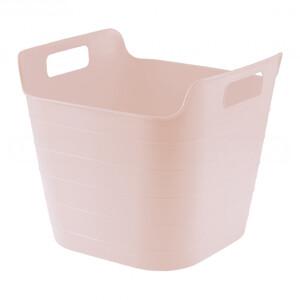 Ведро гибкое сверхпрочное, 26 л, розовое, 67511 СИБРТЕХ
