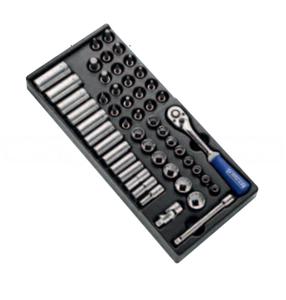 "Модуль E031821 EXPERT Stanley, головок и аксессуаров 3/8"" 50 штук E031821 EXPERT"