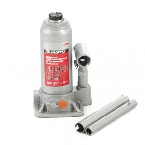 Домкрат гидравлический бутылочный, 3 т, h подъема 178-343 мм Matrix