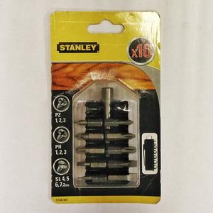 Набор бит + магнитный адаптер 60мм STA61481 Stanley STA61481 Stanley