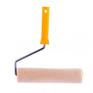 """Валик """"Лаки"""", 250 мм, ворс 5 мм, D 48 мм, D ручки 8 мм, Велюр Сибртех"""