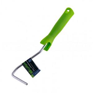 Ручка для мини-валиков, 60 мм, D ручки 6 мм, оцинкованная Сибртех