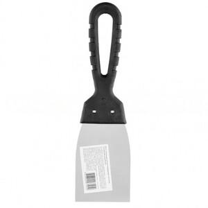 Шпательная лопатка из нержавеющей стали, 60 мм, пластмассовая ручка 85133 SPARTA