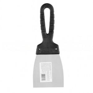 Шпательная лопатка из нержавеющей стали, 80 мм, пластмассовая ручка 85134 SPARTA
