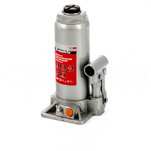 Домкрат гидравлический бутылочный, 8 т, h подъема 230-457 мм 50766 MATRIX