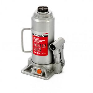 Домкрат гидравлический бутылочный, 10 т, h подъема 230-460 мм 50767 MATRIX
