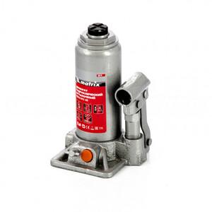 Домкрат гидравлический бутылочный, 3 т, h подъема 178-343 мм, в пластиковом кейсе 50774 MATRIX