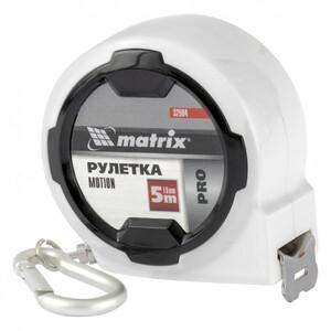 Рулетка Motion, 5 м x 19 мм, возможность записи, карабин-держатель, PRO 32594 MATRIX