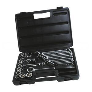 """Набор торцевых головок 1/2"""" и комбинированных ключей STANLEY, 1-89-105, 26 предметов 1-89-105 Stanley"""
