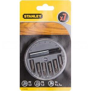 Набор бит + магнитный адаптер 60мм STA60500 Stanley STA60500-XJ Stanley