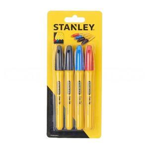 Набор маркеров Stanley, STHT81391-0, черный, красный, синий, заостренный наконечник STHT81391-0 Stanley