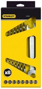 "Наборы из 8-ми рожковых гаечных ключей Stanley ""MaxiDrive Plus"", 4-87-052 4-87-052 Stanley"