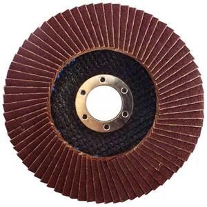 Круг лепестковый шлифовальный КЛТ 125x22.2 мм, 120G, тип 27 для УШМ, Stanley, STA32131-XJ STA32131-XJ Stanley
