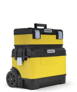 Ящик с колесами двухсекционный Stanley, 1-95-831, металлопластмассовый желтый 1-95-831 Stanley