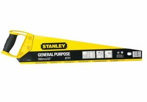 "Ножовка по дереву 450х8 мм Stanley ""OPP"", 1-20-086, с закаленными зубьями 1-20-086 Stanley"