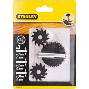 Набор пазовых фрез по дереву STA66080 Stanley STA66080 Stanley