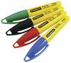 Мини-маркер Stanley, 1-47-329, черный, красный, синий и зеленый 1-47-329 Stanley