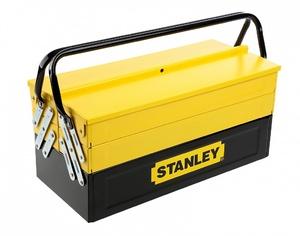 """Ящик для инструмента Stanley """"Expert Cantilever"""" с 5-тью раскладными секциями, 1-94-738, металлический 1-94-738 Stanley"""