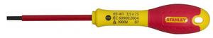 "Отвертка электрика под прямой шлиц 4 х 100 мм Stanley ""FatMax VDE 1000V"", 0-65-412 0-65-412 Stanley"
