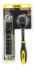 """Трещотка 3/8"""" с вращающейся рукояткой """"Rotator"""" Stanley """"Black Chrome"""", 0-94-606 0-94-606 Stanley"""