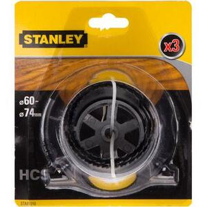 Набор коронок 60/67/74 мм. Stanley, STA81010-XJ STA81010-XJ Stanley