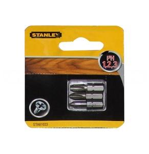 Набор бит PH 1,2,3 x 25мм STA61023 Stanley STA61023-XJ Stanley